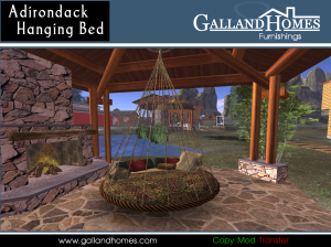 The Adirondack Hanging Bed by Galland Homes